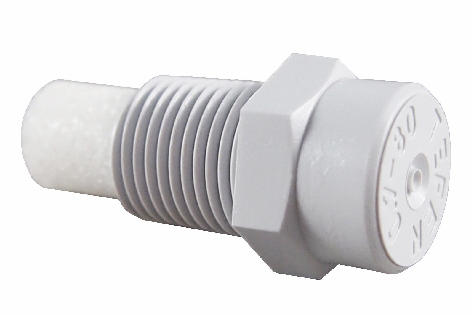 "1000 Pack) Plastic Fog Nozzle W Poly Filter Misting Poultry Grey 1 8"" NPT 1 GPH by Misting Systems"
