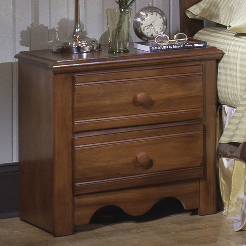 Carolina Furniture Works, Inc. Crossroads 2 Drawer Nightstand