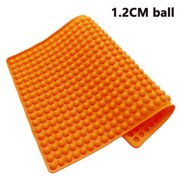 1.2cm Round Ball Barbecue Mat,Heat Resistant Up To 450 Degrees F,Safe To Use In Ovens, Microwaves, Refrigerators, Freezers and Dishwashers PURPLE