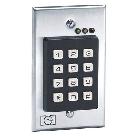 Access Keypad,2-3/4inWx4-1/2inHx1-1/3inD LINEAR 212I