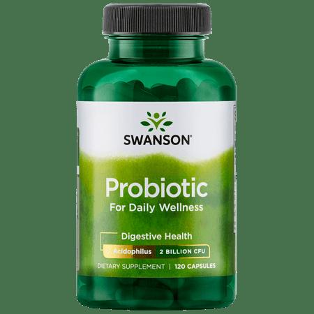 Swanson Probiotic for Daily Wellness 1 Billion Cfu 120 Caps