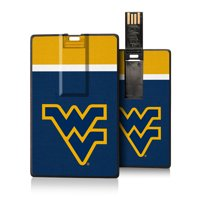 West Virginia Mountaineers Stripe Credit Card USB Drive 16GB