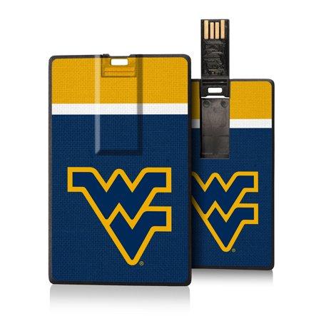 West Virginia Mountaineers Stripe Credit Card USB Drive 16GB