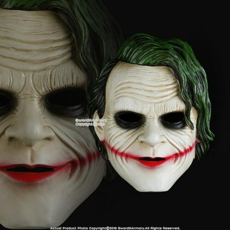 Joker Halloween Costume Ideas (Halloween Resin Joker Mask Adult Costume Party Props Realistic Movie)