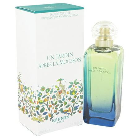 Un Jardin Apres La Mousson Perfume By Hermes 34 Oz Eau De Toilette