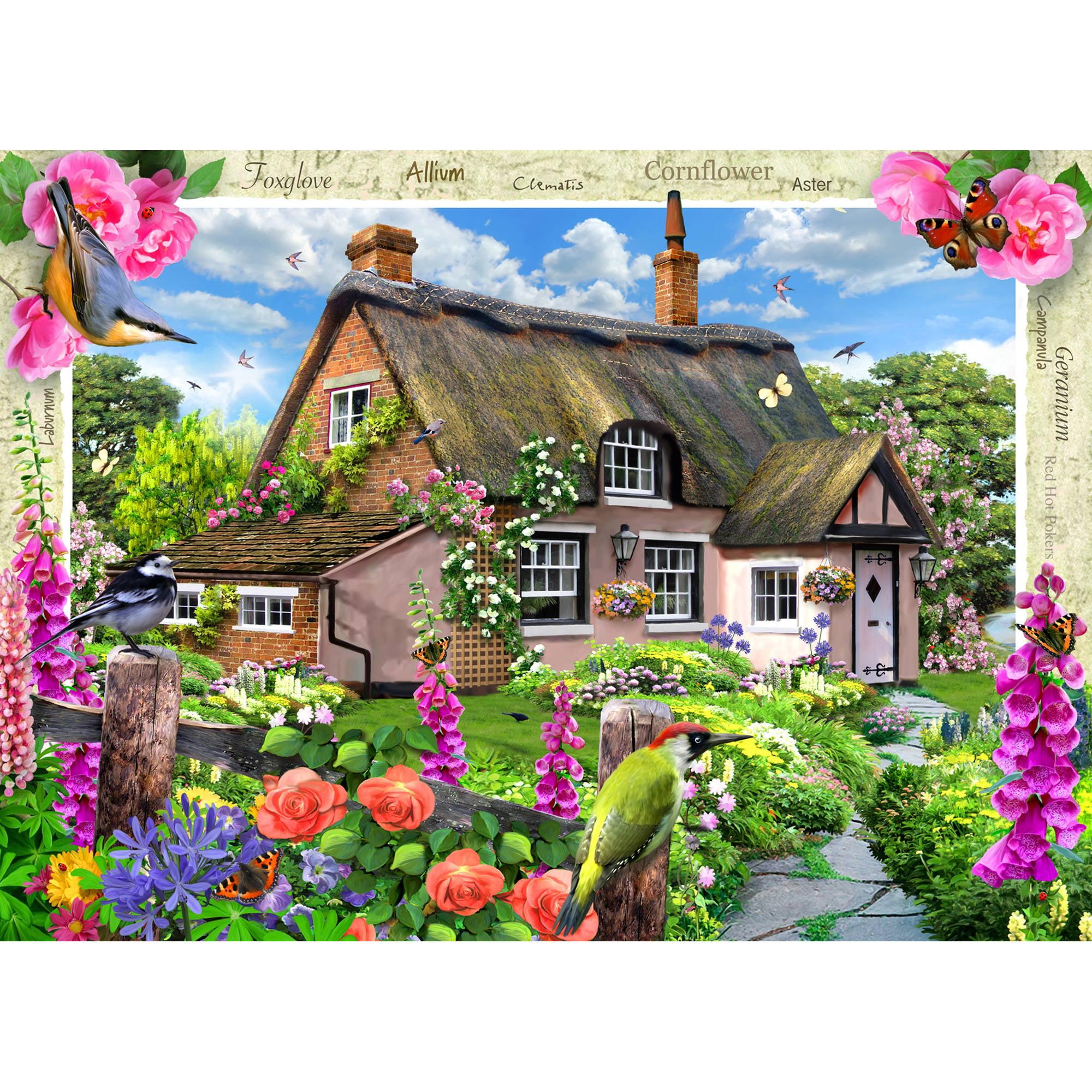 MasterPieces Foxglove Cottage 1000 Piece Puzzle 71402