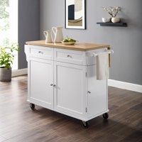 Better Homes & Gardens Molly Kitchen Cart in White