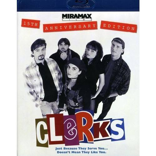 CLERKS-15TH ANNIVERSARY (BLU RAY) (ENG/ENG SUB/SPAN SUB/5.1 DTS-HD)