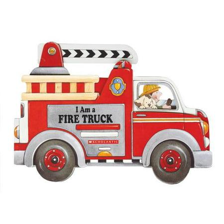 Im a Fire Truck (Board Book) (Fire Truck Book Cd)