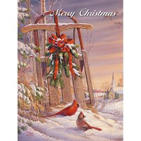 Lang Wintertime Cardsinal Boxed Christmas Cards