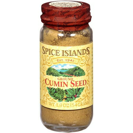 Spice Islands: Ground Cumin Seed Spice, 1.9 Oz (Full Spectrum Black Cumin Seed)