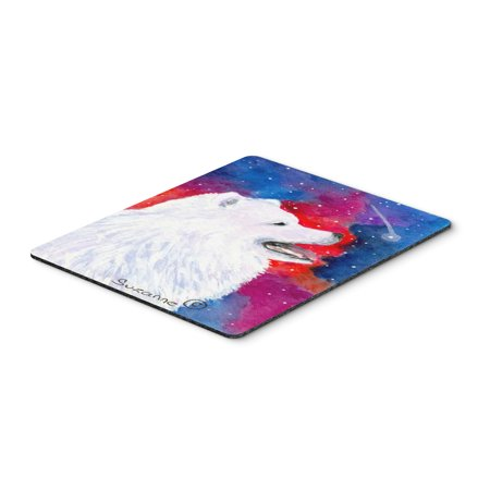 Samoyed Mouse Pad / Hot Pad / Trivet