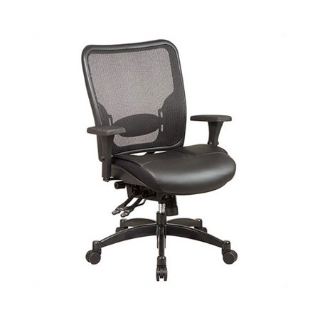 Office Star Products Space High Back Mesh Desk Chair Walmartcom