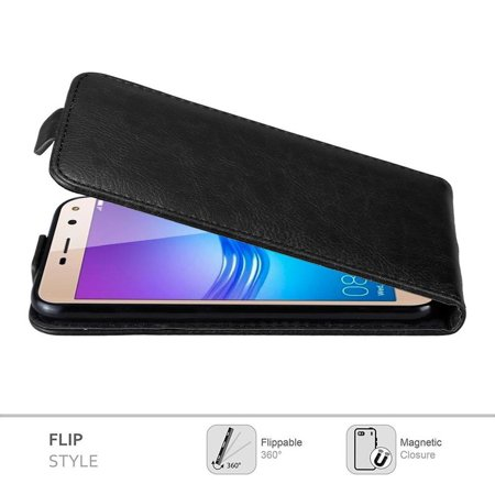 Cadorabo Case for Huawei Y6 2017 / Y5 2017 cover - Flip Style Case with Magnetic Closure - image 2 de 5