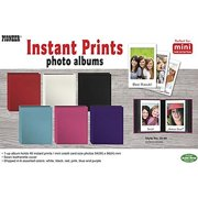 Pioneer Photo Albums Instant-Print Photo Album with Leatherette Covers - 40 Pockets (Assorted Colors)