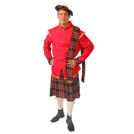 Image of Adult Deluxe Scottish Lad Costume Alexanders Costumes 27-268