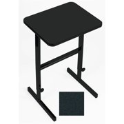 Adjustable Standing Height Work Station in Black Granite Finish (48 in. L x 24 in. W x 42 in. H (60 lbs.))
