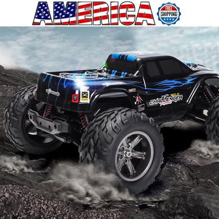 MECO 1/12 RC Truck Car 42KM/h 2.4G 4WD High Speed RC Buggy Short Course SUV Kid Toy Xmax Gift