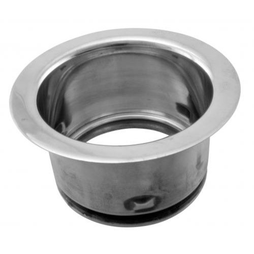 WestBrass D2101 Satin Nickel 3-Bolt Mount Style Extra-Deep Disposal Flange