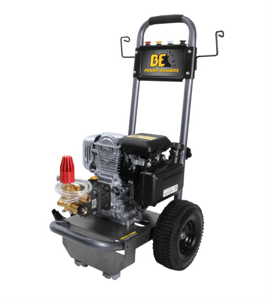 BE B275HA Gas Powered Pressure Washer, GC160, 2700 PSI, 2...