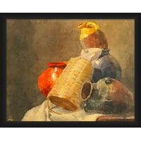 PTM Images,Red Vase