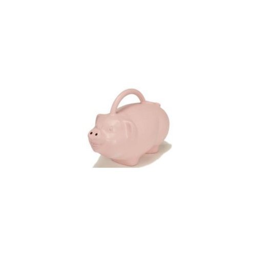 Novelty Pig-Shaped Watering Can Pig-Shaped Watering Can 1.75 Gallon by Generic