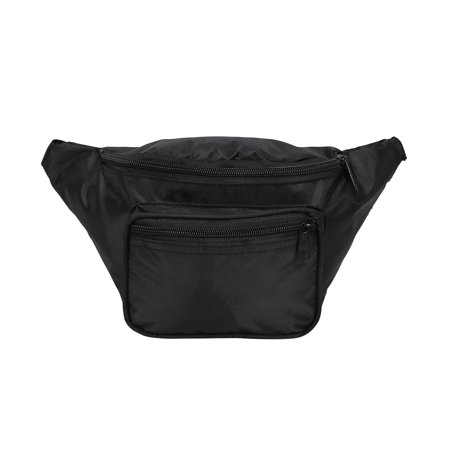 daa2ab5d3b38 HDE Fanny Pack [80's Style] Waist Pack Outdoor Travel Crossbody Hip Bag  (Black) | Walmart Canada