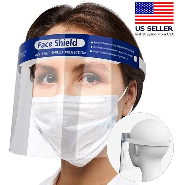 Engage Full Face Shield Protection Safety Facial Guard