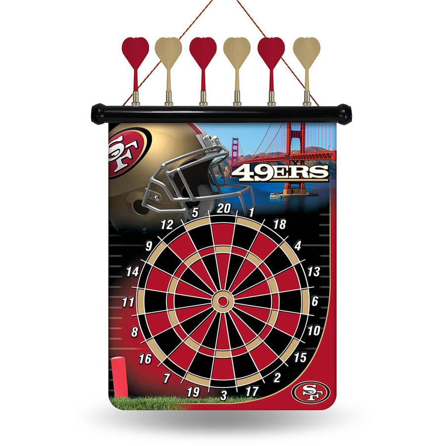 Rico NFL Magnetic Dart Set, San Francisco 49ers