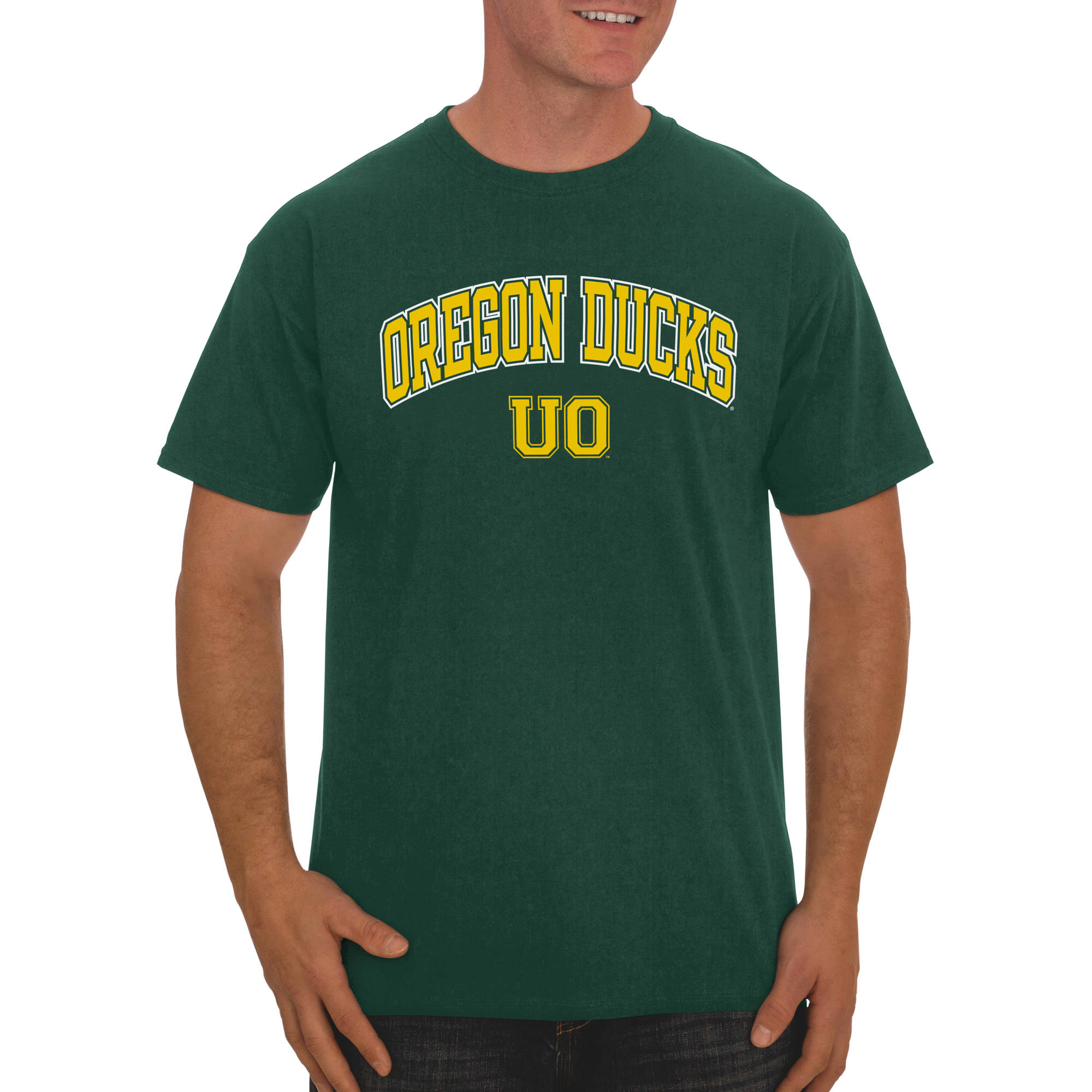Russell NCAA Oregon Ducks Men's Classic Cotton T-Shirt