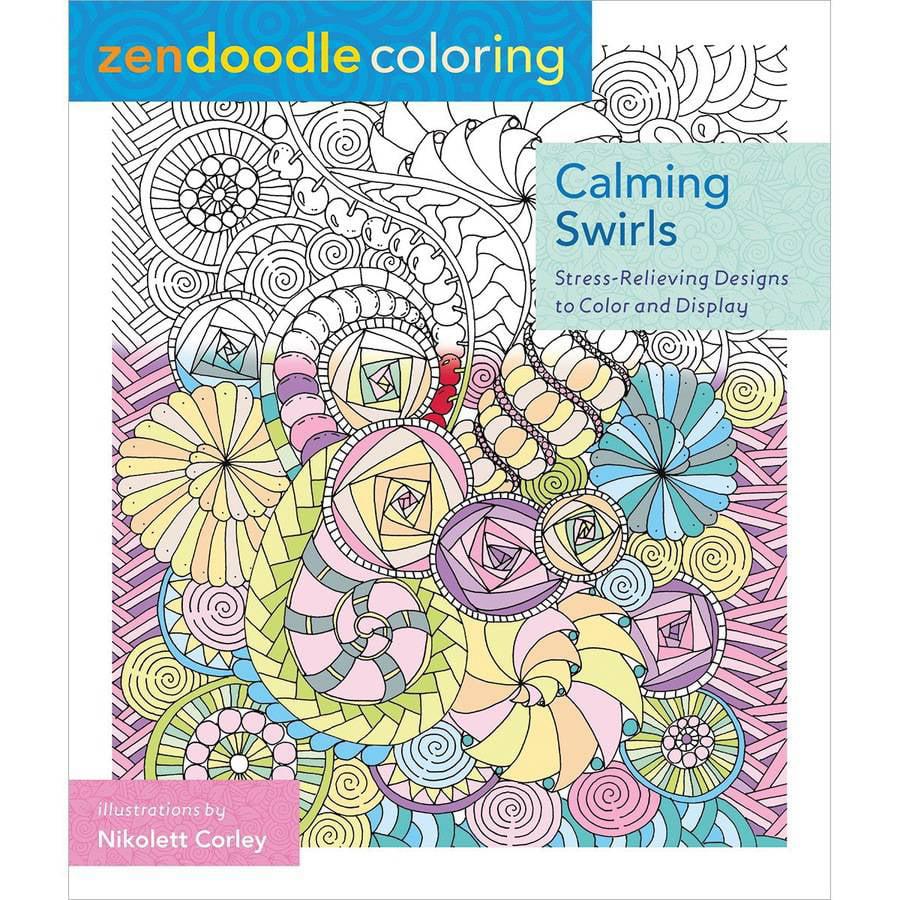 Zendoodle coloring enchanting gardens - St Martin S Books Zendoodle Coloring Enchanting Gardens Walmart Com