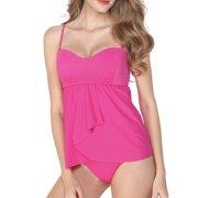 Solaris Womens Tankini Swimsuit Two Piece Swimwear Bikini Sets Top Summer Bathing Suits Set Swimwear Bathing Suit