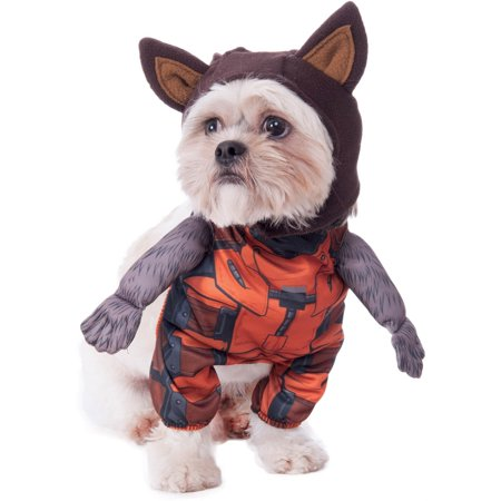 Raccoon Costume For Women (Guardians Of The Galaxy Walking Rocket Raccoon Pet Halloween)