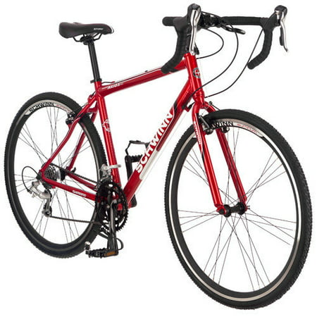 Schwinn Axios Aluminum Road Bike  Red  700C Wheels  Mens Size