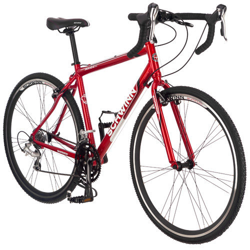 Schwinn Axios Aluminum Road Bike, Red, 700c Wheels, Mens size
