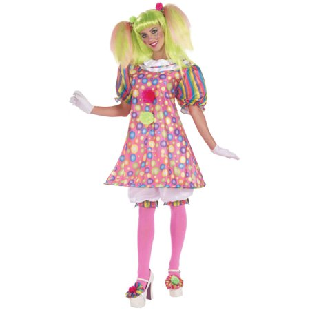 Tickles the Clown Adult Costume (Clown Costume Womens)
