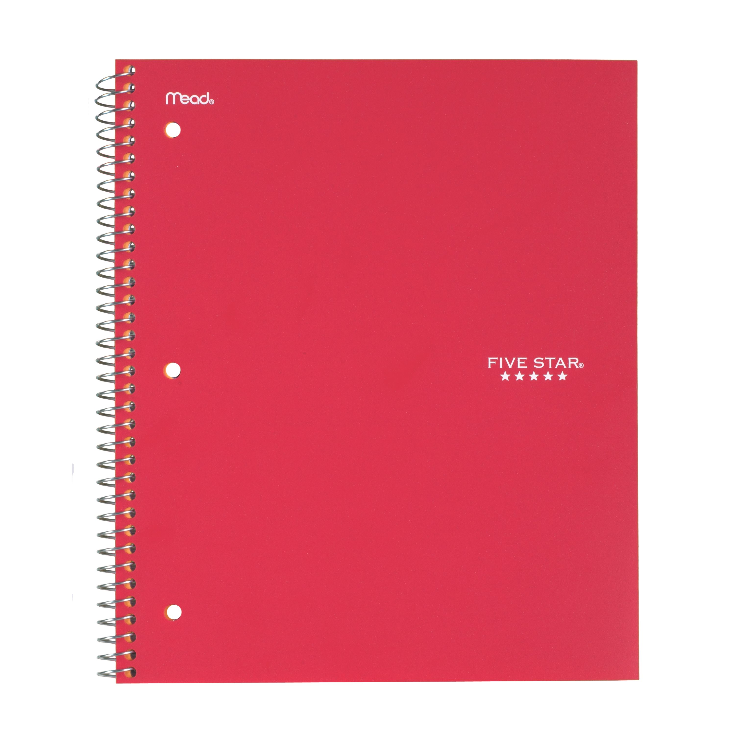 five star wirebound notebook 1 subject graph ruled assorted colors 06190 walmartcom