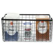 Stella Rect Steel Wire Basket - Large 14in