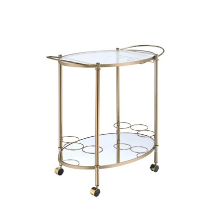 ACME Zadok Serving Cart in Champagne