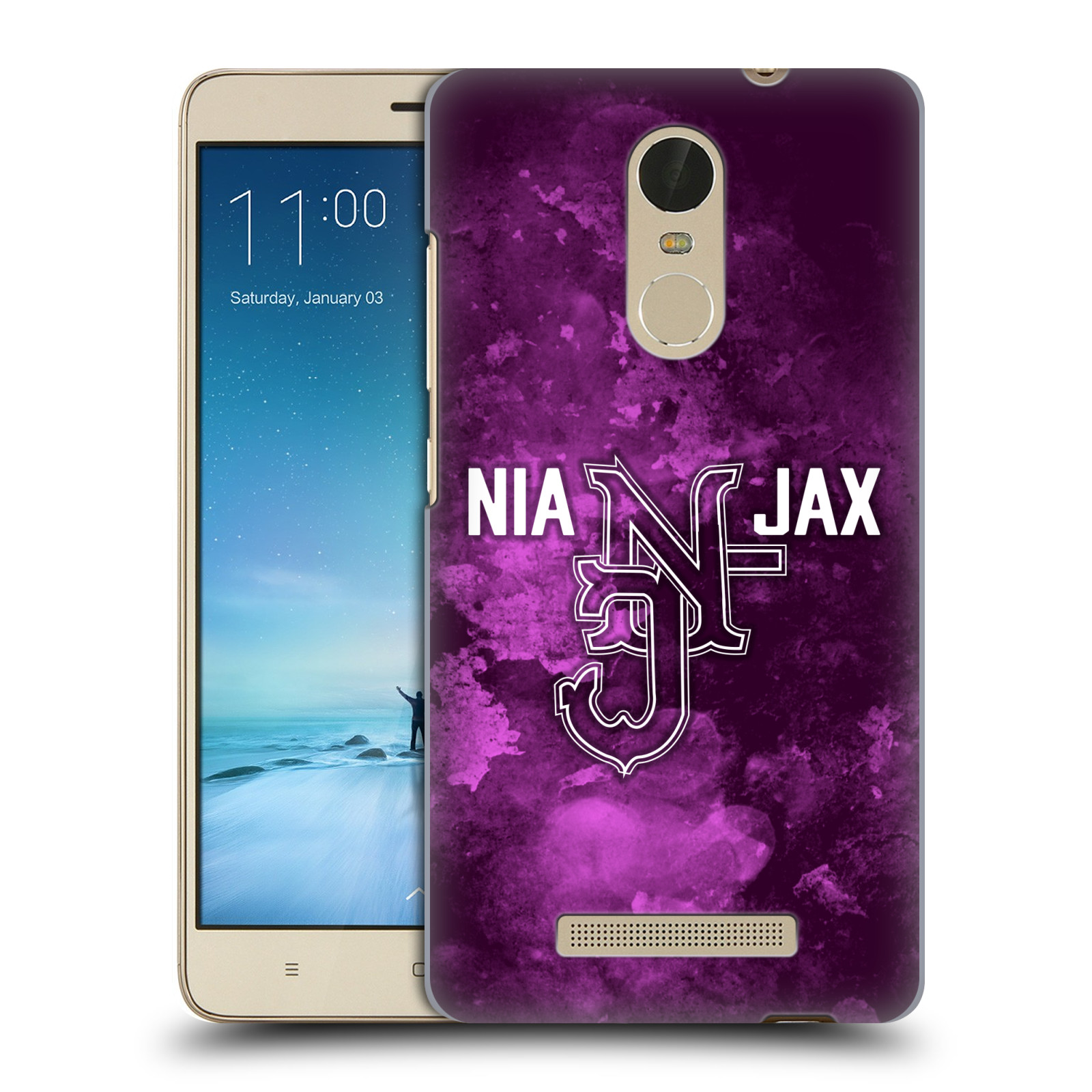 OFFICIAL WWE NIA JAX HARD BACK CASE FOR XIAOMI PHONES
