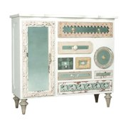 Guild Master Mosaic 7 Drawer Chest