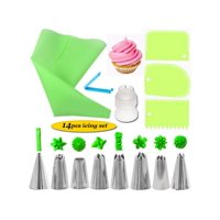 Cake Decorating Kit Set Tools Bags Piping Tips Pastry Icing Spatulas Nozzles Coupler