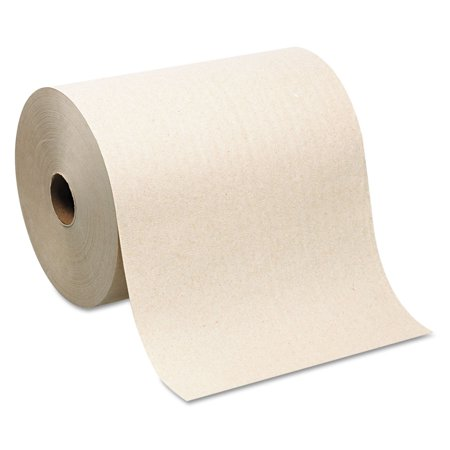 Georgia Pacific Professional 26480 Hardwound Roll Paper Towel, Nonperforated, 7.87 X 1000ft, Brown, 6 Rolls/carton