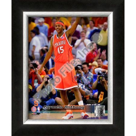 Carmelo Anthony Syracuse University Orangeman Framed Photographic Print Wall (Carmelo Anthony Style)