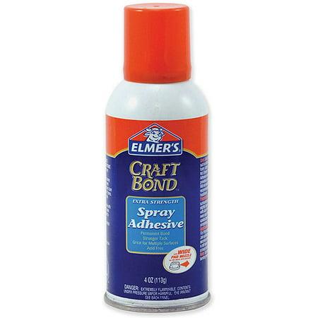 Elmer 39 s craft bond extra strength spray adhesive 4 ounces for Elmer s craft bond