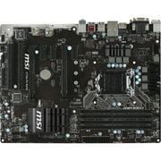 MSI Desktop Motherboard - Intel Z170 Chipset - Socket H4 LGA-1151 Z170A PC MATE
