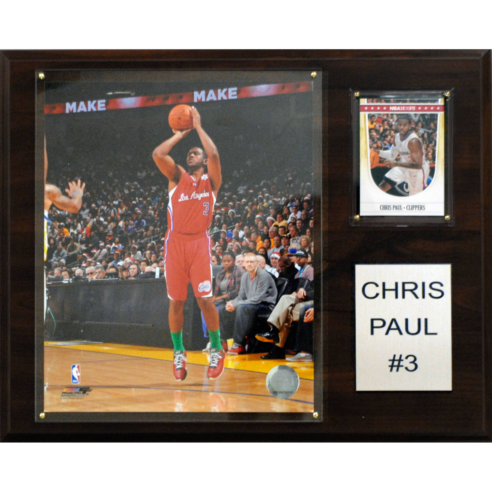 C&I Collectables NBA 12x15 Chris Paul Los Angeles Clippers Player Plaque