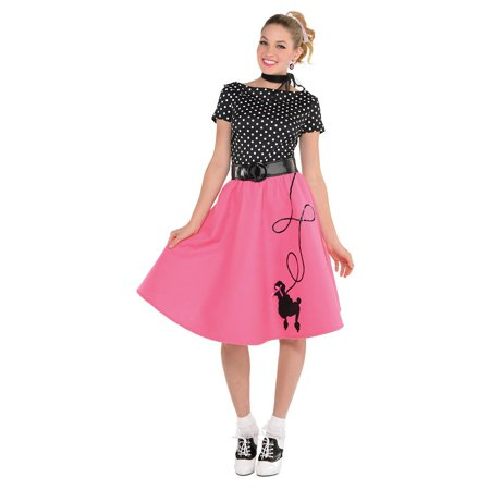 50 S Costumes (50s Flair Adult Costume -)