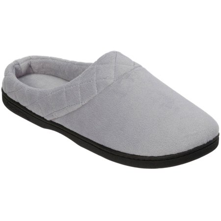 Dearfoams Womens Quilted Memory Foam Clog Slippers Womens Chest Form
