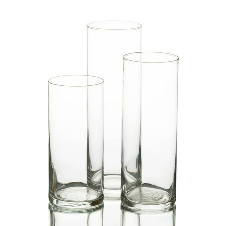 - Eastland Cylinder Vases Set of 3